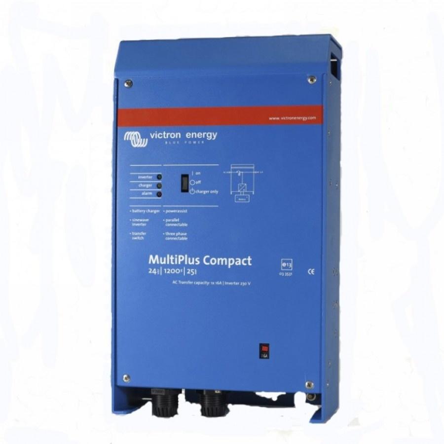 Victron Energy MultiPlus C 24-1200-25-16 Netomvormer 1200 W 24 V-DC Kabel