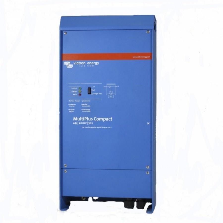 Victron Energy MultiPlus C 24-2000-50-30 Netomvormer 2000 W 24 V-DC Kabel