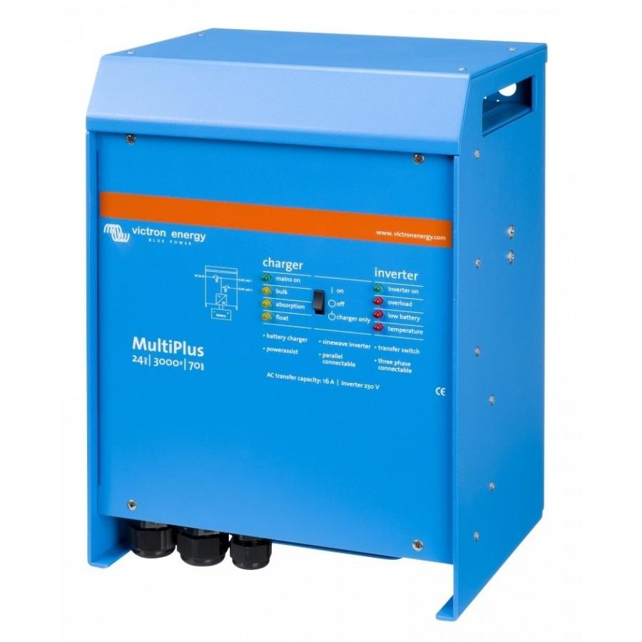 Victron Energy MultiPlus C 24-3000-70-16 Netomvormer 3000 W 24 V-DC Kabel