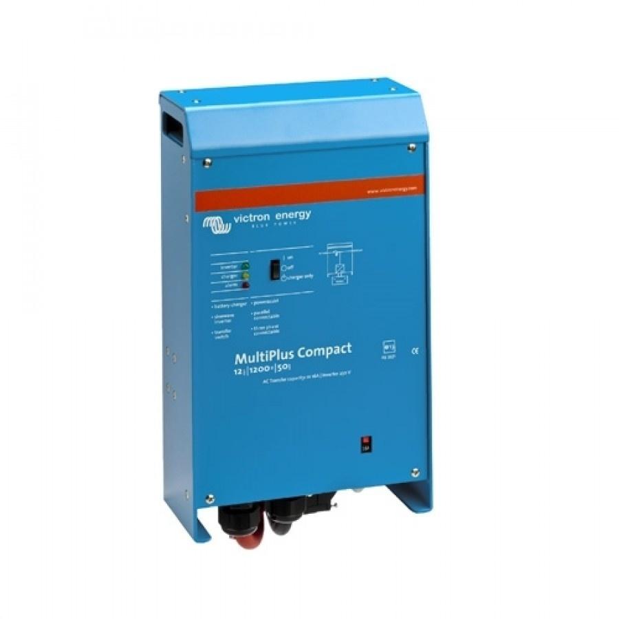 Victron Energy MultiPlus C 12-1200-50-16 Netomvormer 1200 W 12 V-DC Kabel
