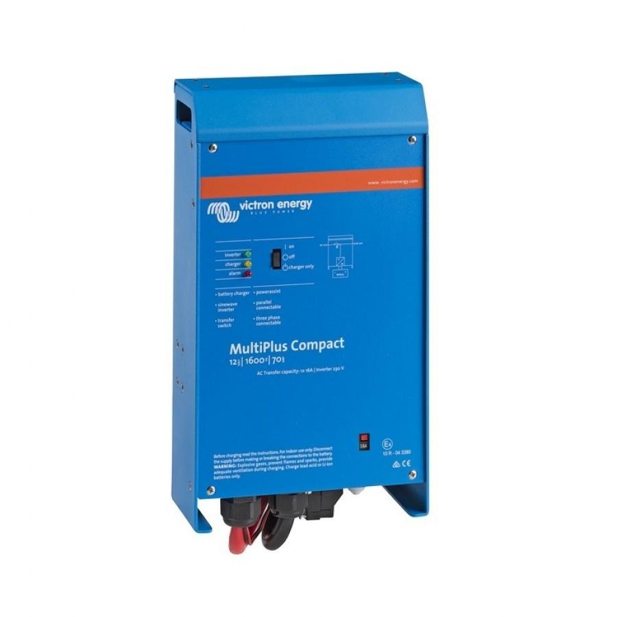 Victron Energy MultiPlus C 12-1600-70-16 Netomvormer 1600 W 12 V-DC Kabel