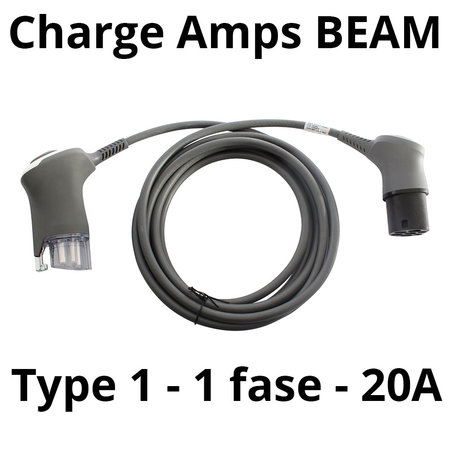 Charge Amps Laadkabel type 1 - 1 fase 20A - 5 meter
