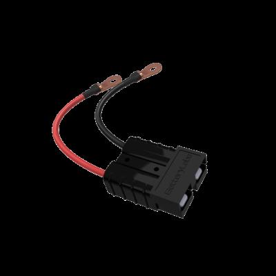 Anderson SB 50 connector met kabel zwart