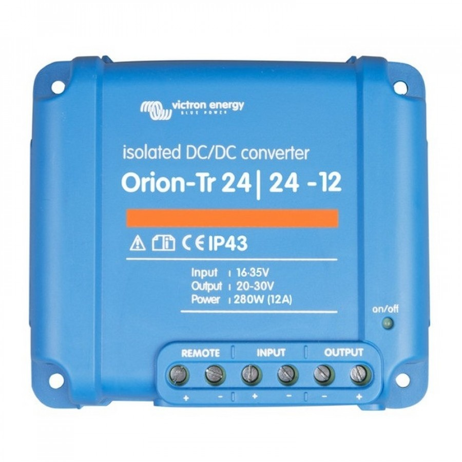 DC-DC-converter Victron Energy Orion-Tr 24-24-12A 24 V-12 A