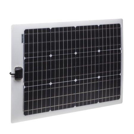 Semi flexibel Lichtgewicht LE zonnepaneel 57Wp JB (756x535x4mm)
