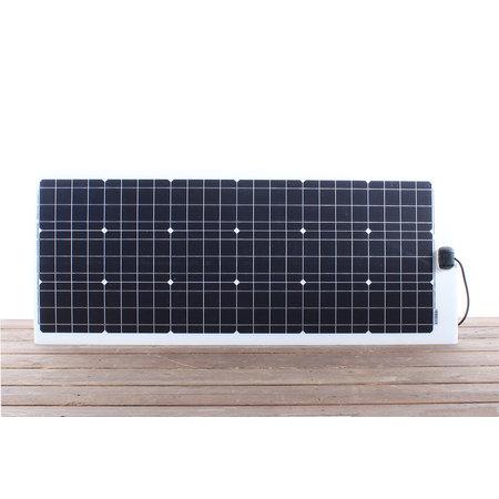 Semi flexibel LE zonnepaneel 105Wp JB (1315x545x4mm)