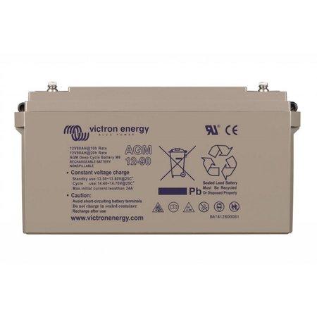 Victron AGM 12V/90Ah Deep Cycle Accu/ Batterij - M6 insert