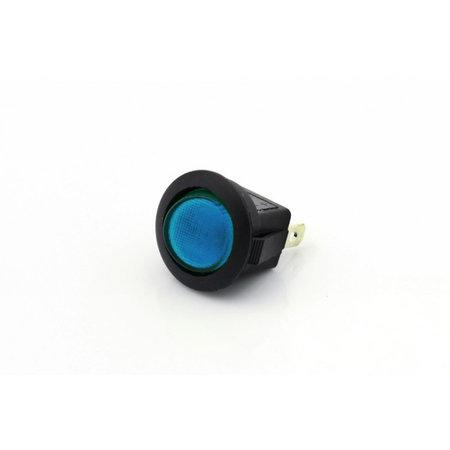 Mini Tuimelschakelaar met blauwe LED