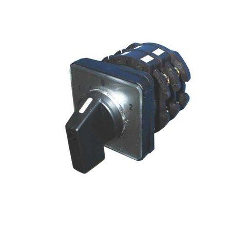 Telux M20 2-polige Nokkenschakelaar 1-0-2 32A | 230 VAC