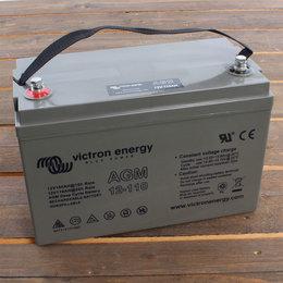 Victron AGM 12V/110Ah Deep Cycle Accu - M8 insert