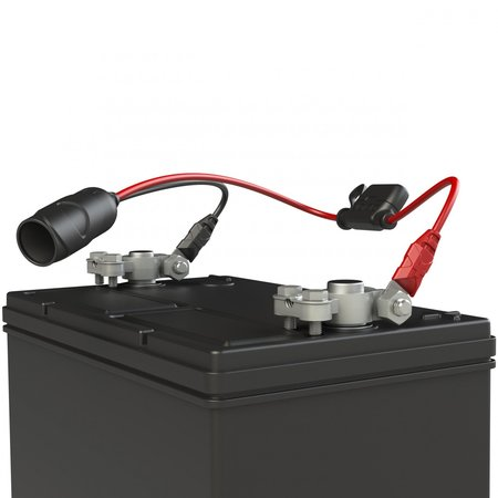 Noco Genius GC017 12V plug socket - Accuklemmen + Eyelets
