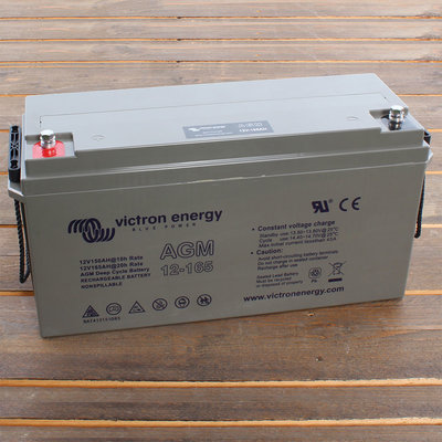 Victron AGM 12V/165Ah Deep Cycle Accu - M8 insert
