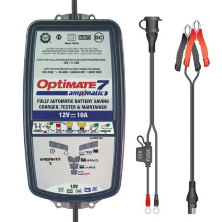 Tecmate Optimate 7 - 12V Ampmatic 10A