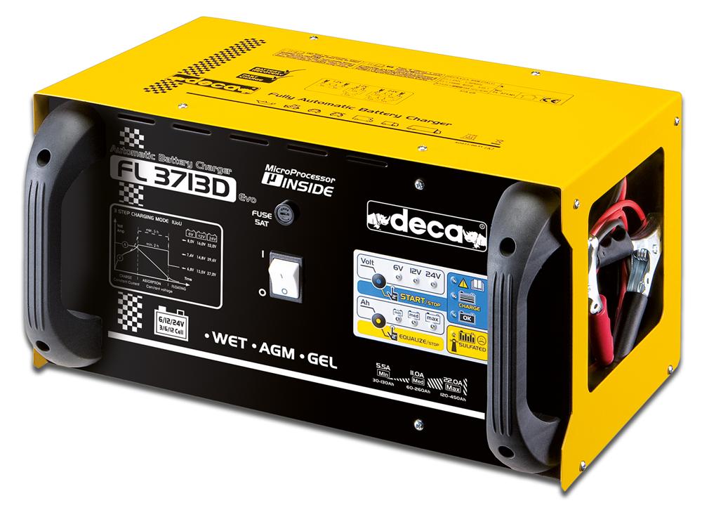 FL 3713D Acculader 6-12-24V 37A
