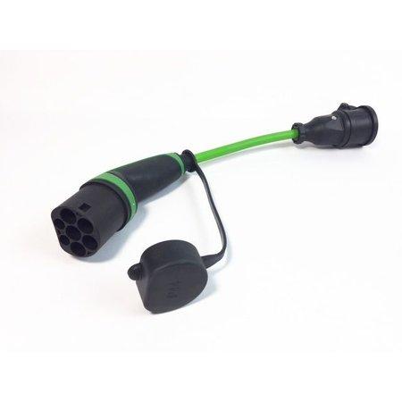 Ratio Adapter type 2 naar schuko