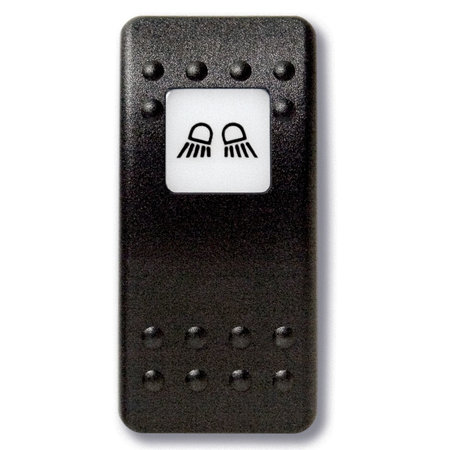 Mastervolt Bedieningsknop Dubbele Werklamp met oplichtend symbool