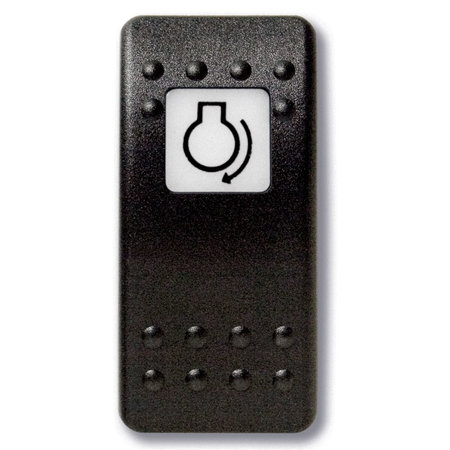 Mastervolt Bedieningsknop Start Motor met oplichtend symbool