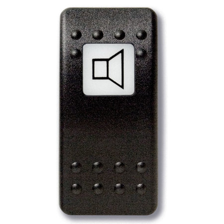 Mastervolt Bedieningsknop Speaker met oplichtend symbool