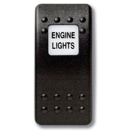 Mastervolt Bedieningsknop Motor Lichten met oplichtend symbool
