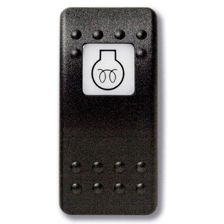 Mastervolt Bedieningsknop Motor Voorverwarmen met oplichtend symbool