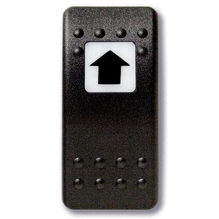 Mastervolt Bedieningsknop Pijl Omhoog met oplichtend symbool