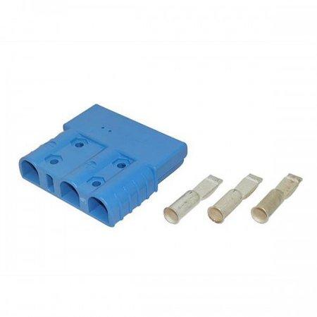 UMA 3 Polige stekker SBE 3160 Blauw 50mm2