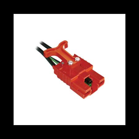 Anderson SBE 80 connector rood - 16mm2 - Met handvat