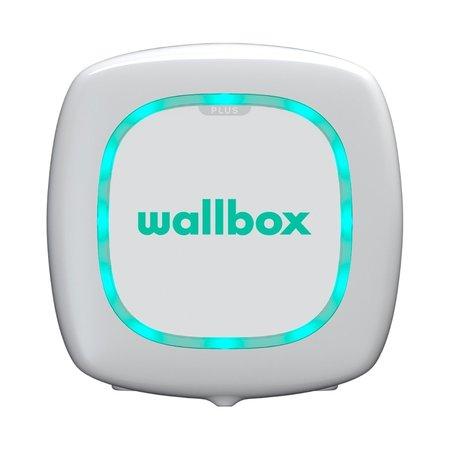 Wallbox Pulsar 22 kW - EV Laadstation Wit type 2 met vaste rechte laadkabel