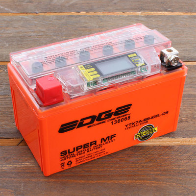 Edge Accu YTX7A-BS Intelligent-Gel (15,1 x 8,7 x 9,4 cm)