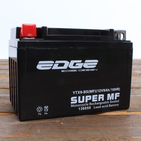 Edge Super MF Accu YTX9-BS (MF) 12V 9Ah - Gel (15 x 10,5 x 8,7 cm)