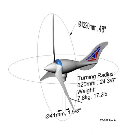 Rutland 1200 Windturbine/ Windgenerator 24V