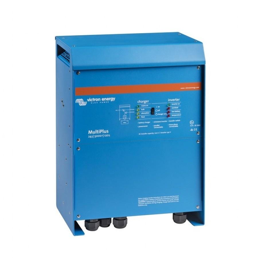 Victron Energy MultiPlus C 24-5000-120-100 Netomvormer 5000 W 24 V-DC 230 V-AC geïntegreerde laadre