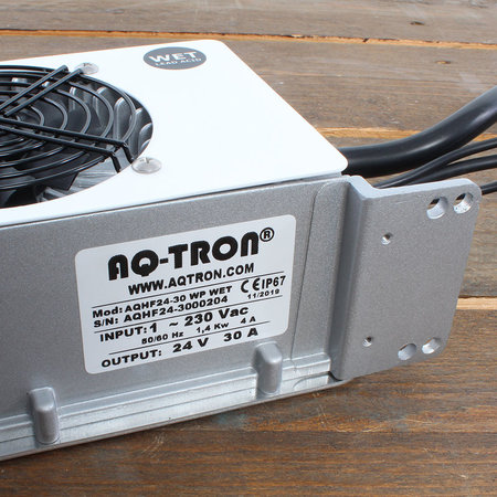 AQ-TRON Hoogfrequent Acculader 24V 30A - WET