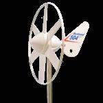 Acculader op windenergie