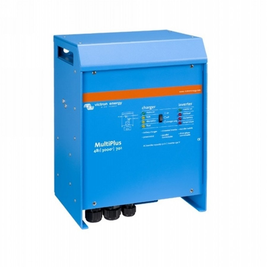 Victron Energy MultiPlus 48-3000-35-16 230 Netomvormer 3000 W 48 V-DC Kabel