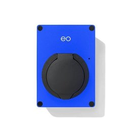 EO Mini Laadstation type 2 Outlet 32A - Blauw