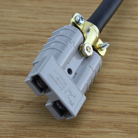 AQ-TRON Adapter/ kabel voor 36 V Club Car/ Yamaha G9, Yamaha G14, Yamaha G16