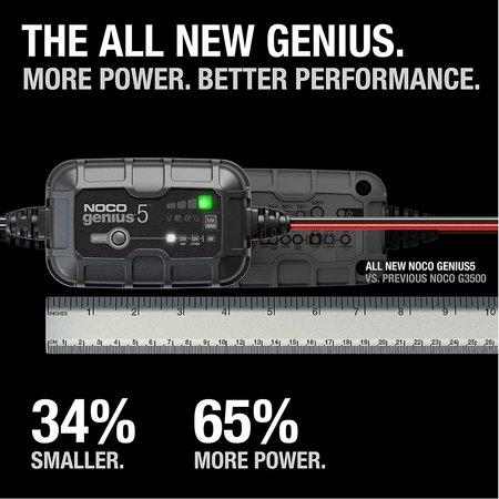 Noco Genius 5 Acculader/ Druppellader 6V en 12V