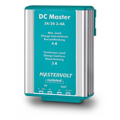 Mastervolt DC Master 24/24-3 - Galvanisch geïsoleerd