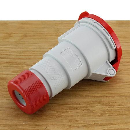 ILME CEE Stekker 5-polig 16A - Vrouwelijk 3P+A+N 380V Rood