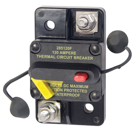 Blue Sea Systems 285-Serie Automatische Zekering/ Circuit Breaker - 120A