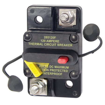 Blue Sea Systems 285-Serie Automatische Zekering/ Circuit Breaker - 80A