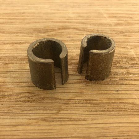Adapter set kleine accupolen naar DIN formaat
