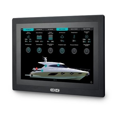 CZone Touch 10 touchscreen