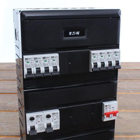 EMAT Groepenkast 8 groepen 220x330mm 1 fase Hoofdschakelaar