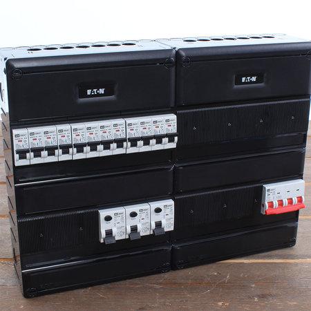 EMAT Groepenkast 12 groepen 440x330mm 3 fase Hoofdschakelaar