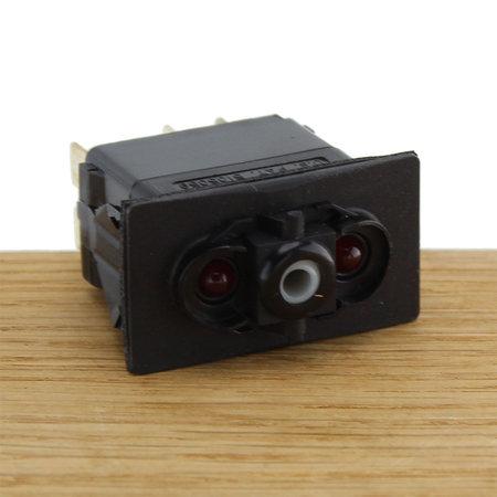 CZone Aangepaste Rocker schakelaar AAN/UIT, rode LED