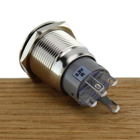CZone Drukknop voor CZone vergrendeling AAN/UIT, blauwe LED