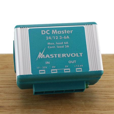 Mastervolt Touch 5 Retrofit plaat 12V met 24-12V converter