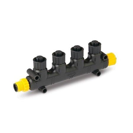 CZone Vierweg T-stekker voor NMEA 2000 backbone